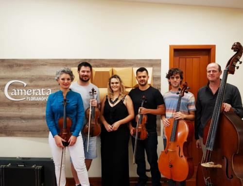 Camerata Florianópolis traz seu quinteto de cordas