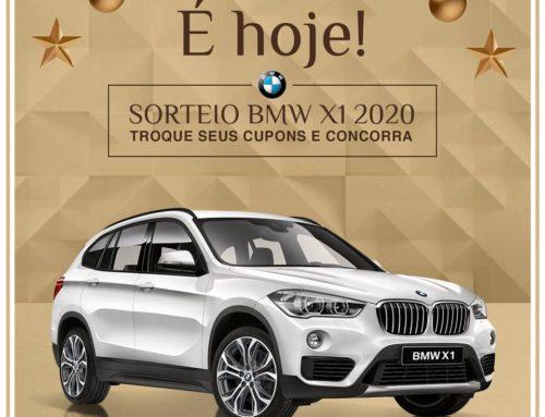 Sorteio da primeira BMW