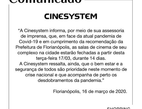 Comunicado Cinesystem