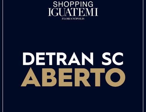 O Detran SC está aberto