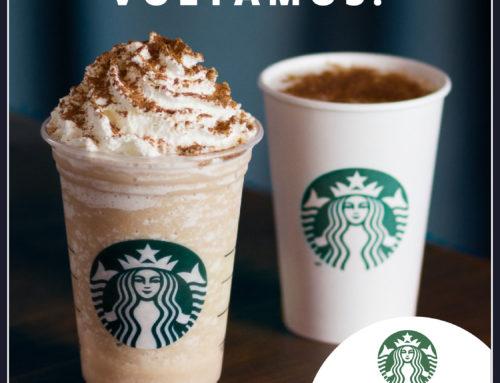 A Starbucks está aberta!