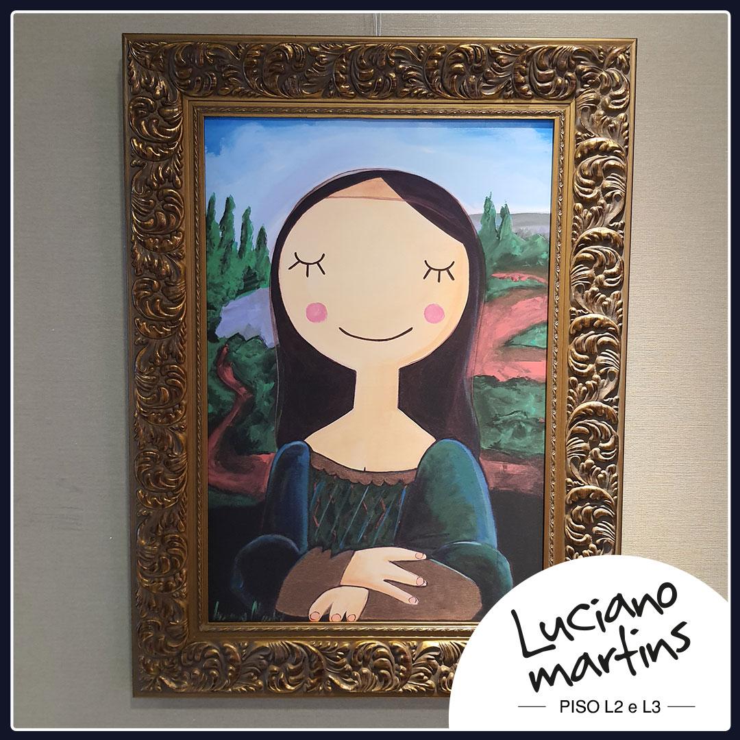 Luciano Martins comemora 20 anos de carreira com dupla exposição no Shopping Iguatemi Florianópolis