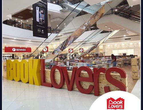 Inaugurou a feira de livros Book Lovers no Shopping Iguatemi Florianópolis.