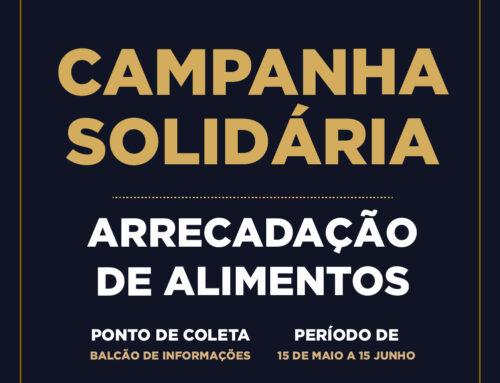 CAMPANHA SOLIDÁRIA – ARRECADAÇÃO DE ALIMENTOS