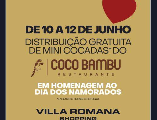Dia dos Namorados é no Villa Romana Shopping