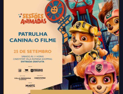 Sessões Animadas exibe Patrulha Canina – O Filme neste sábado (25)