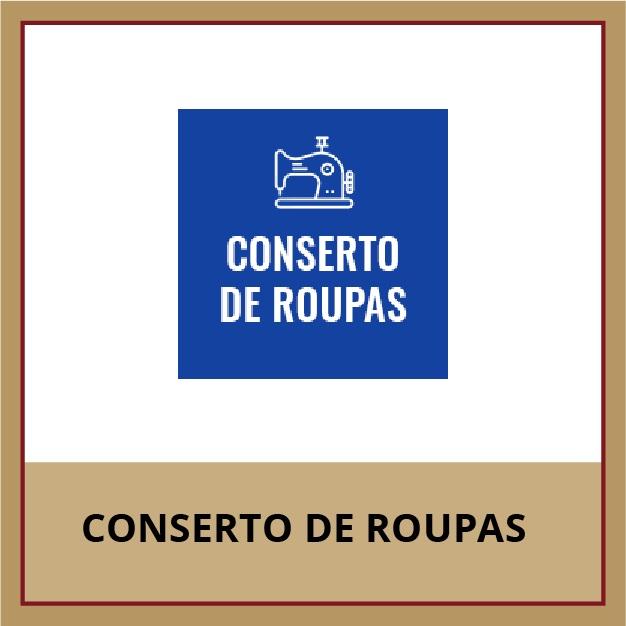 CONSERTO DE ROUPAS