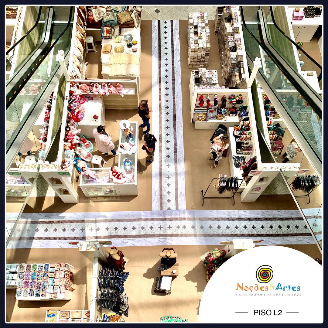 Shopping Iguatemi Florianópolis recebe Feira Internacional de Artesanato e Decoração