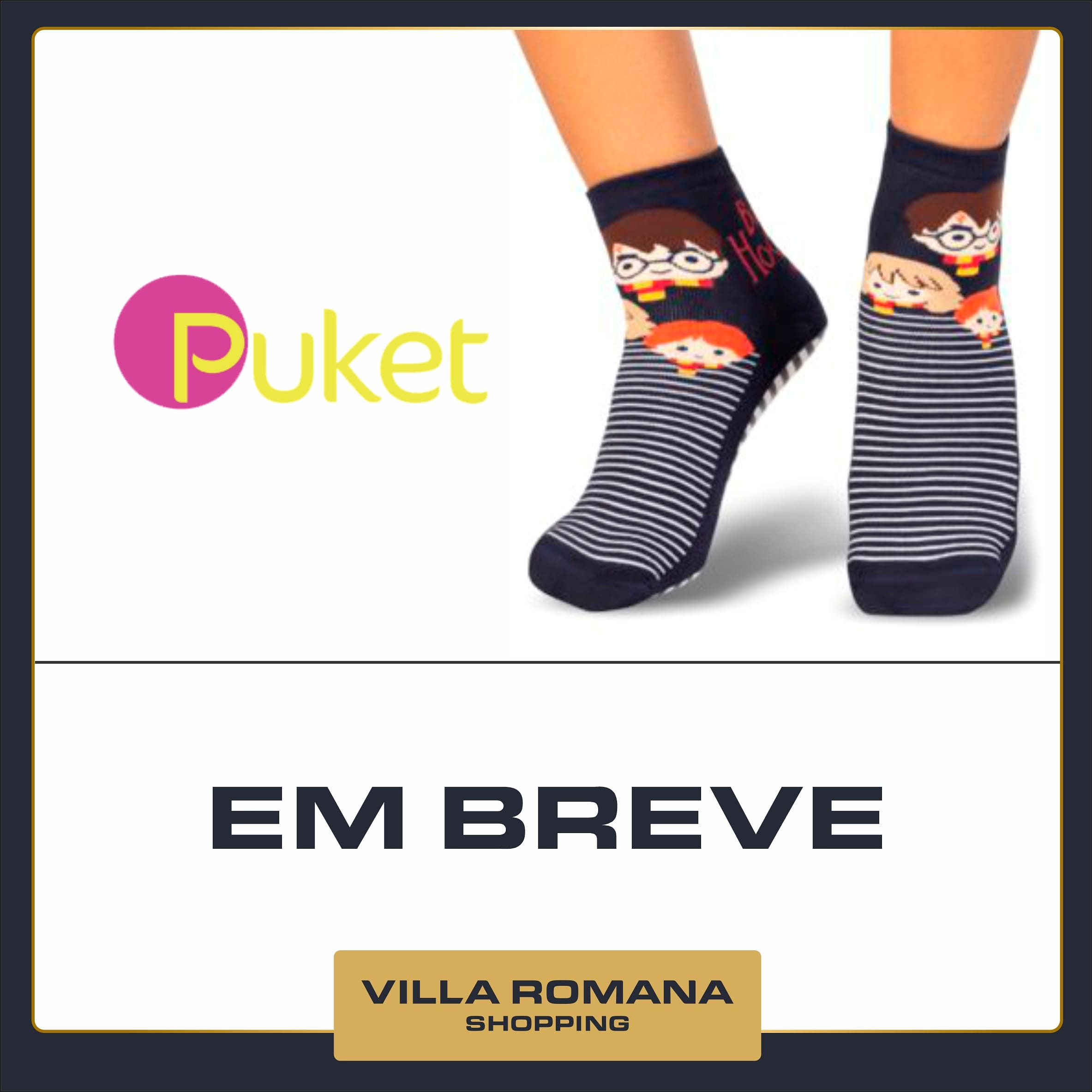 Em breve: Puket no Villa Romana Shopping