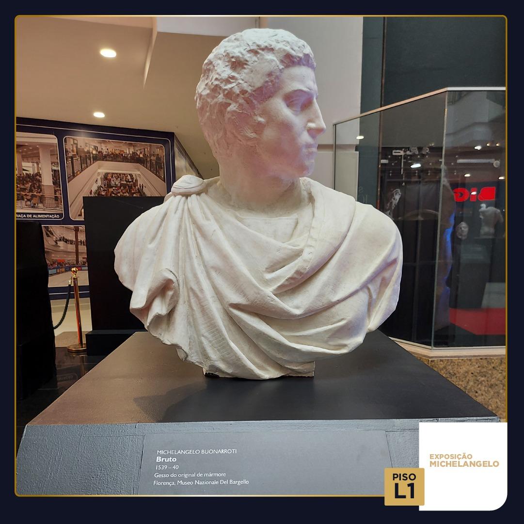 "Exposição ""A Beleza na Escultura de Michelangelo"""