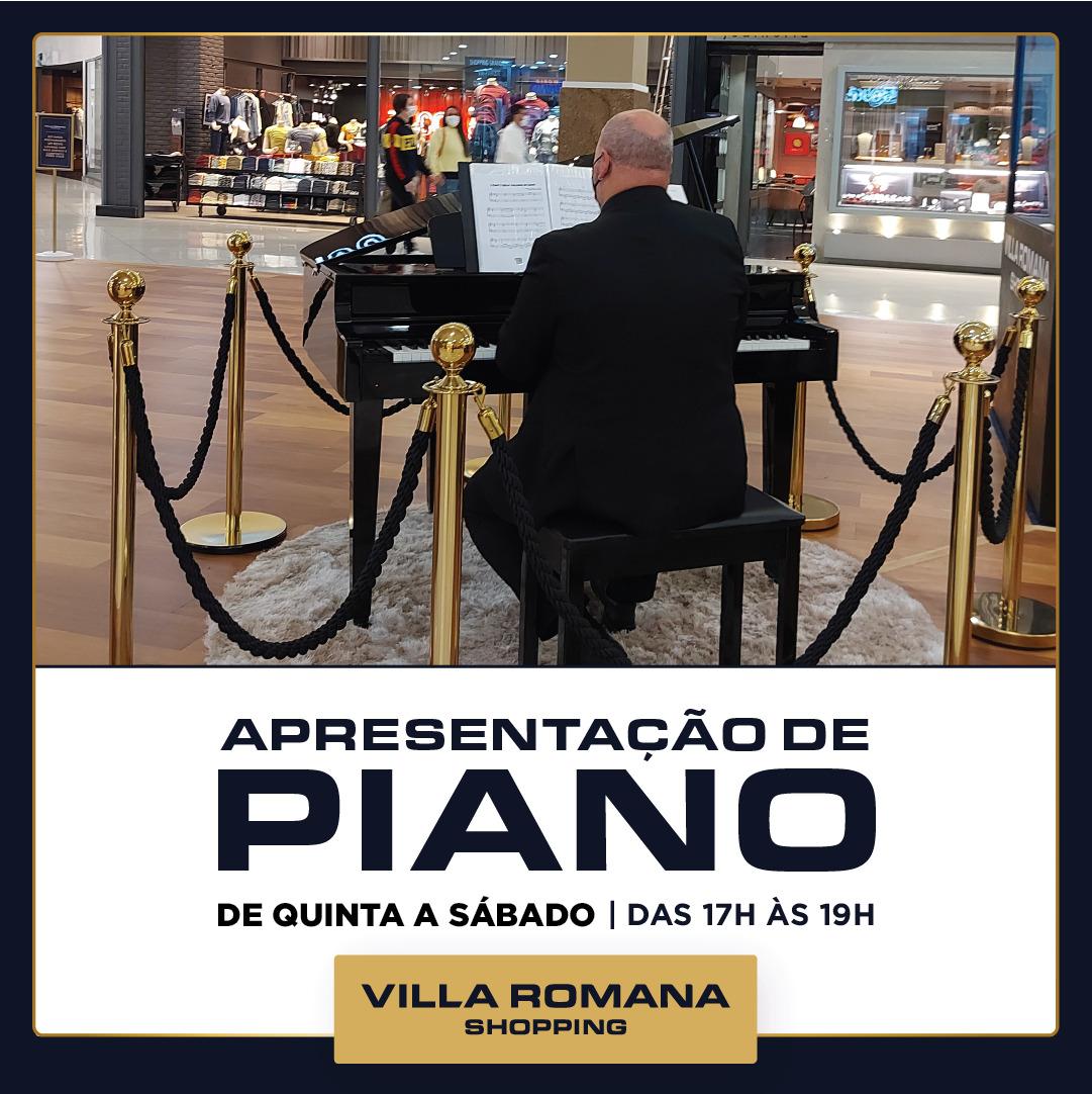 Apresentações de Piano