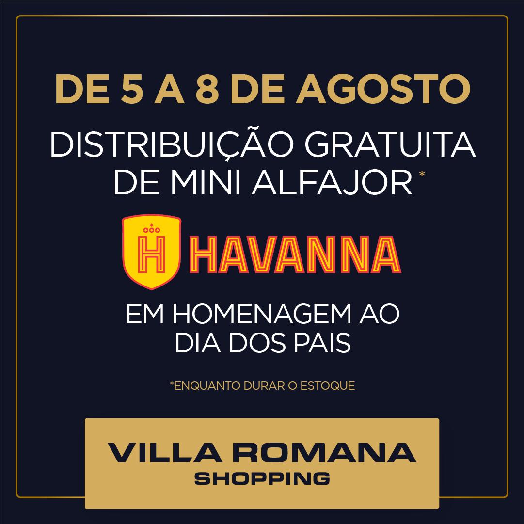 Dia dos Pais no Villa Romana Shopping