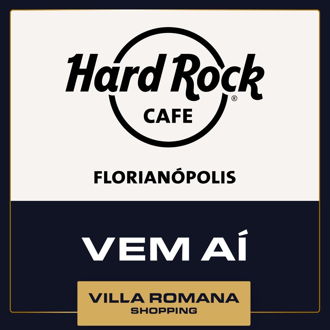 Villa Romana Shopping recebe primeiro restaurante do Hard Rock Cafe em Santa Catarina