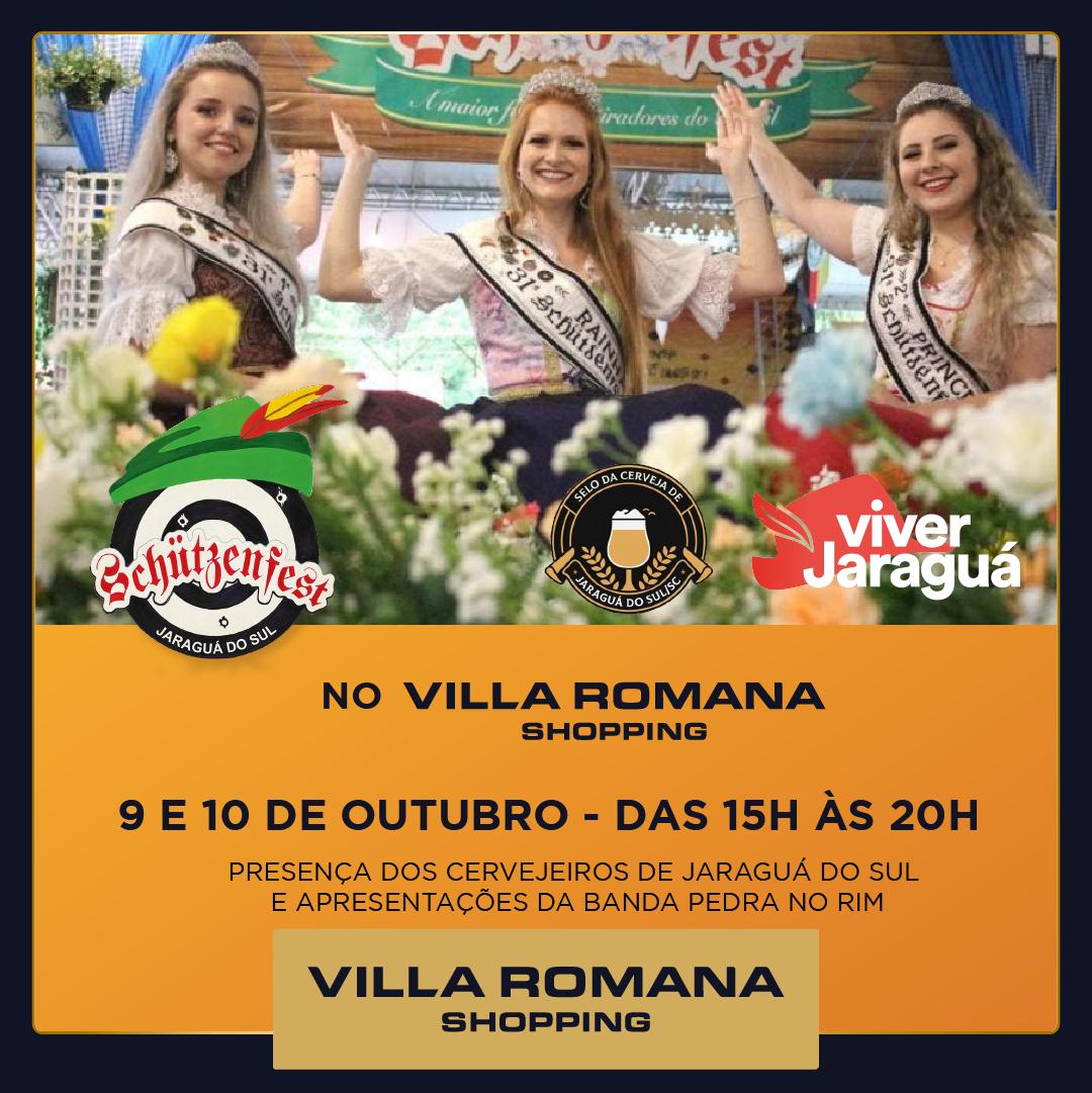 Schützenfest no Villa Romana Shopping